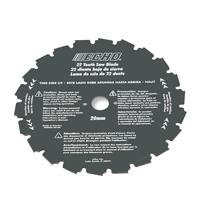 Product accessories for echo safety accessories equipment 8 22 tooth clearing saw blade 2mm thickness greentooth Choice Image